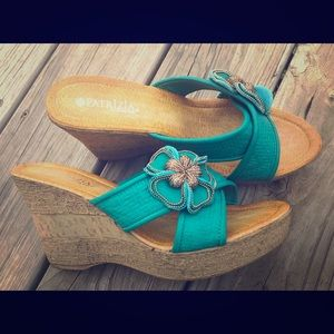 Patrizia By Spring Step Fresia wedge sandal